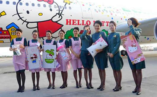 Aerolinea Hello Kitty