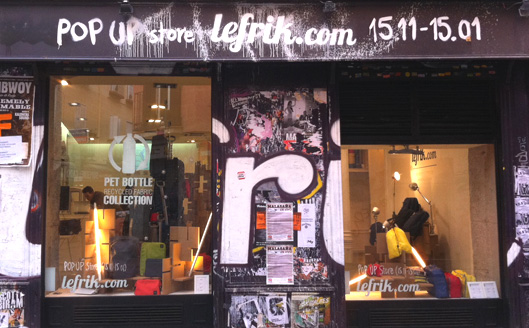 Pop up store LeFrik