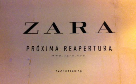 #ZARAOpening
