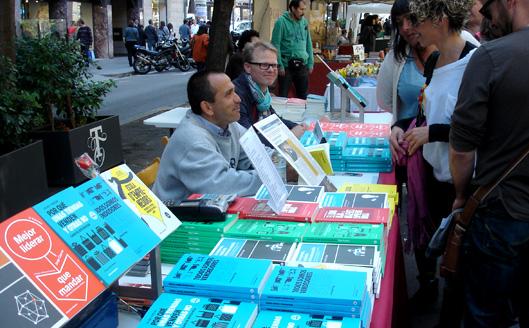 Stand de Libros de Cabecera en Sant Jordi