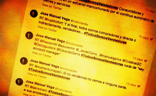 Ventas en Twitter
