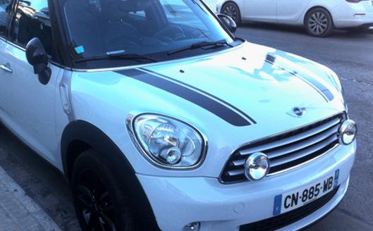 coche blanco