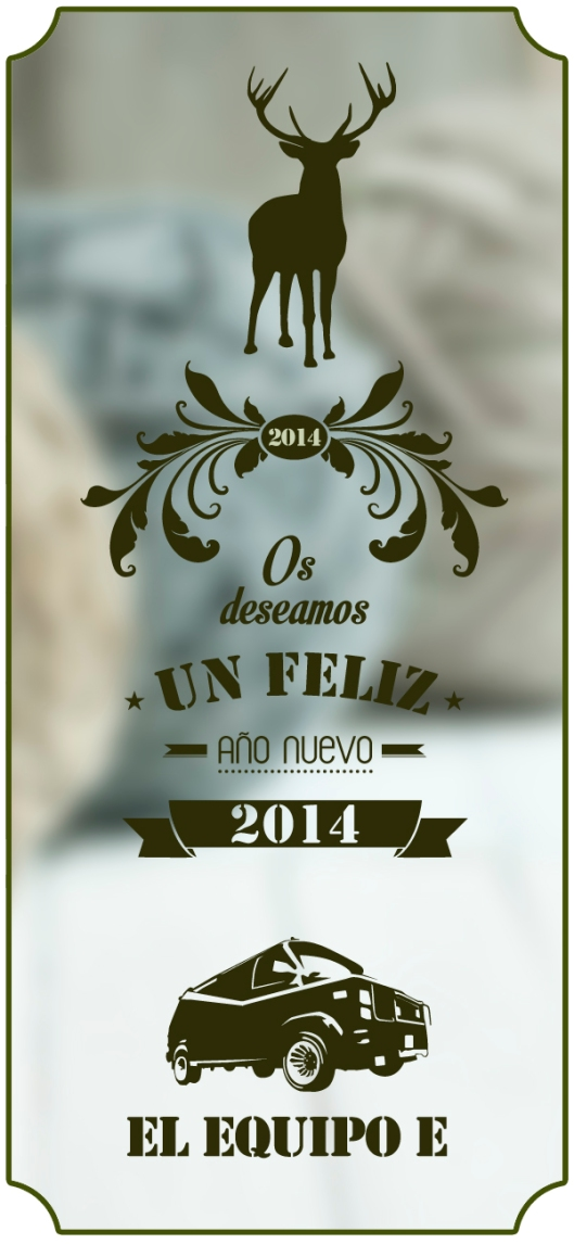 Felicitación navideña El Equipo E, 2014